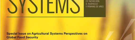 """Agricultural Systems Special Issue: """"Science of scaling"""""""